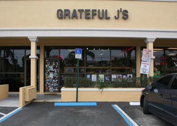 Grateful J's Boca Raton Store Front