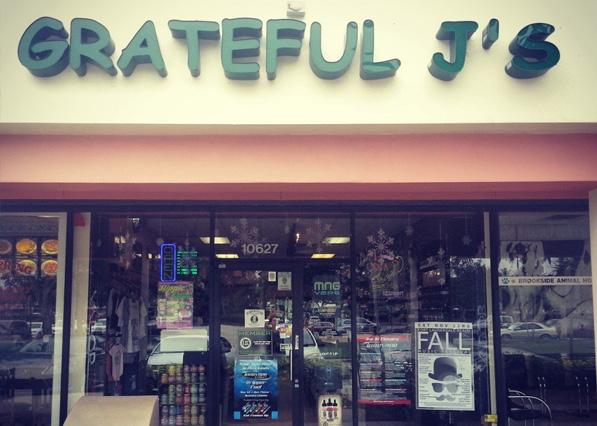 Grateful J's Coral Springs Store Front