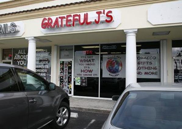 Grateful J's Lake Worth Store Front