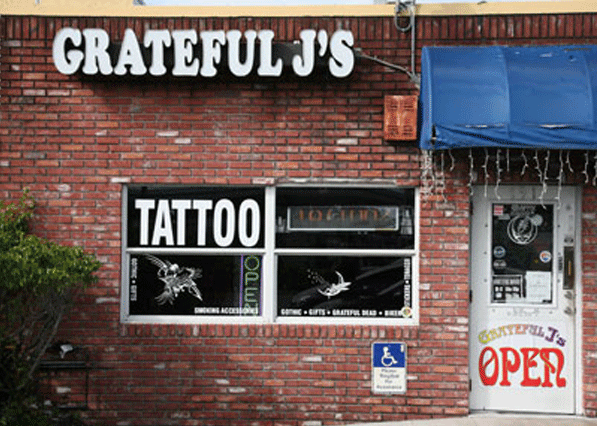 Grateful J's Margate Store Front